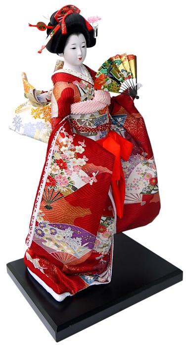 Japanese Vintage Doll In Beautifull Kimono Japanese