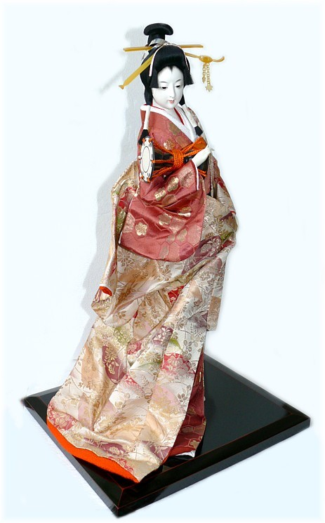 Japanese Traditional Interior Geisha Doll Japanese Kimono