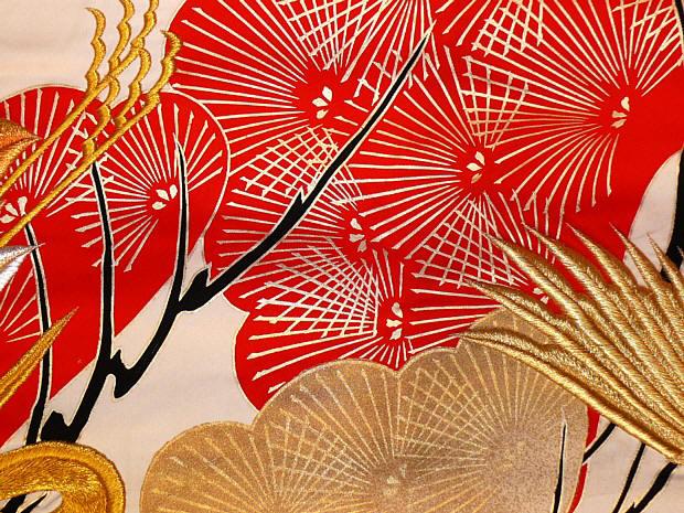 Red And Black Kimono