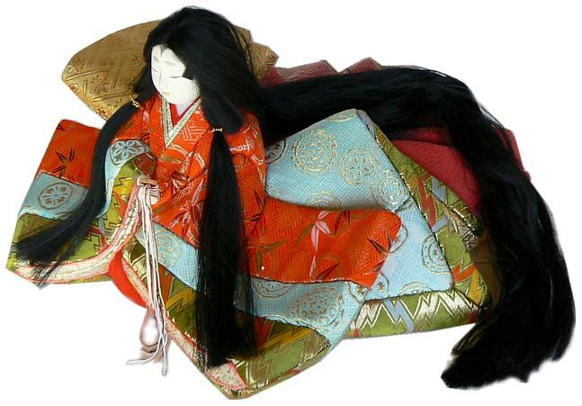 Japanese Princess Doll Japanese Antique And Vintage Dolls