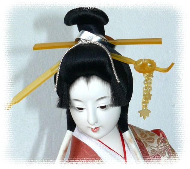 Japanese Antique Samurai Doll Japanese Kimono Dolls