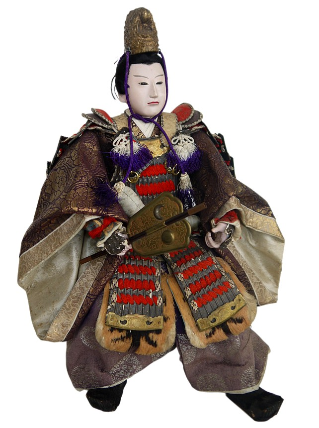 Japanese Antique Samurai Doll Japanese Kimono Dolls