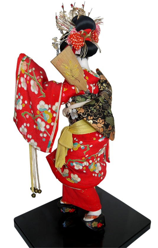Japanese Traditional Doll Of Young Maiko Japanese Kimono