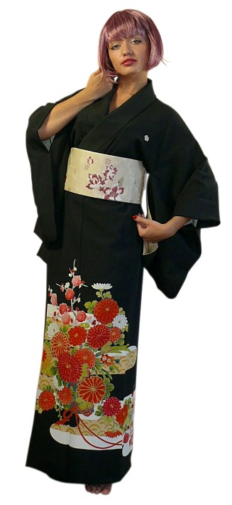 nice to meet you in japanese formal kimono