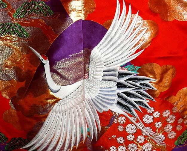 Traditional Japanese Wedding Kimono
